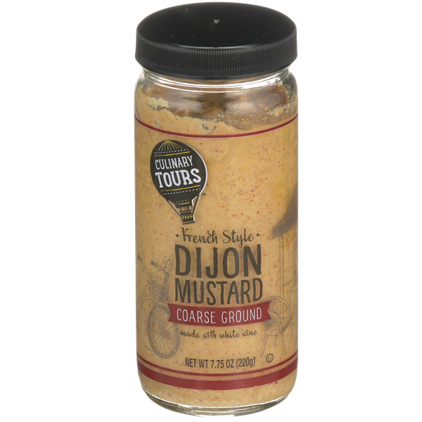 Culinary Tours French Style Dijon Mustard Coarse Ground