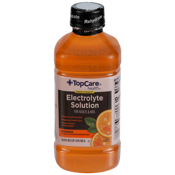 TopCare Health Electrolyte Solution, Orange