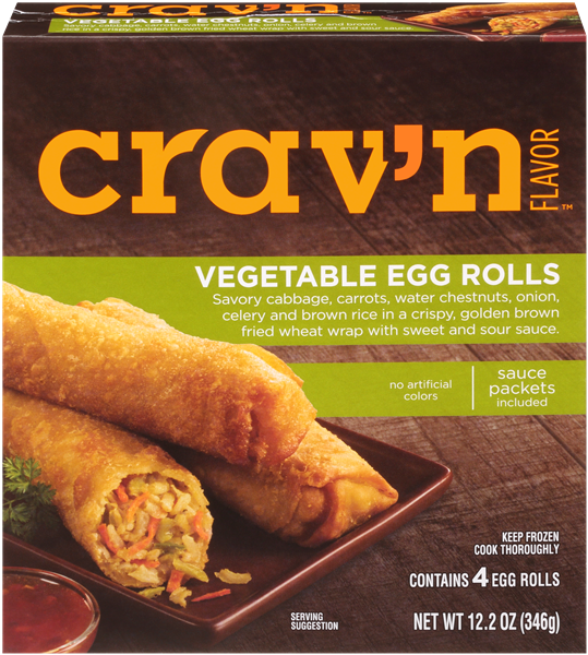 Crav'N Flavor Vegetable Egg Rolls