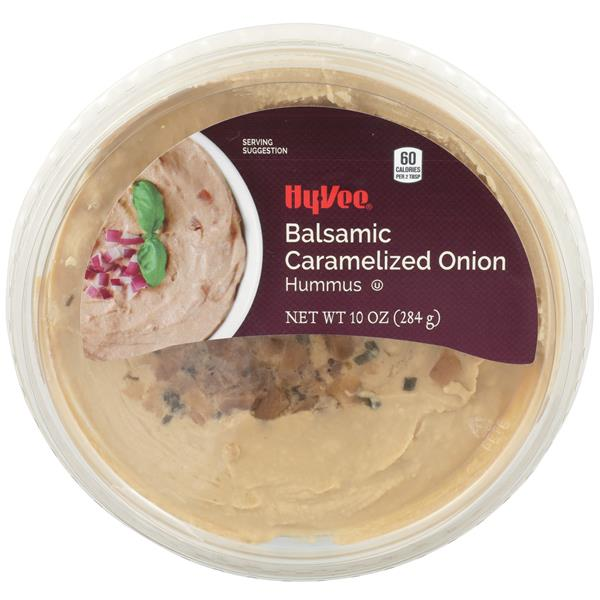 Hy-Vee Balsamic Caramelized Onion Hummus