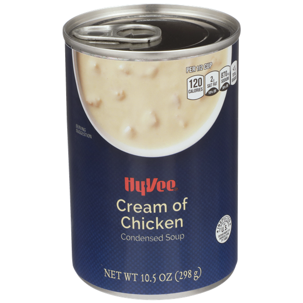 Hy-Vee Cream of Chicken Condensed Soup