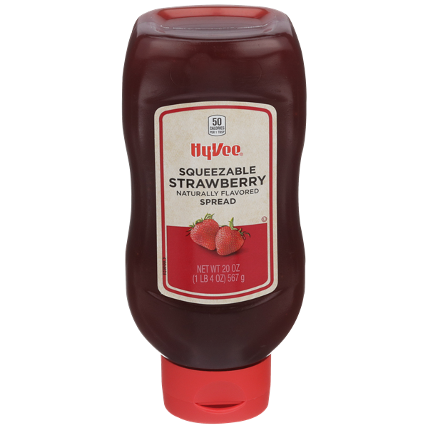 Hy-Vee Squeezable Strawberry Spread