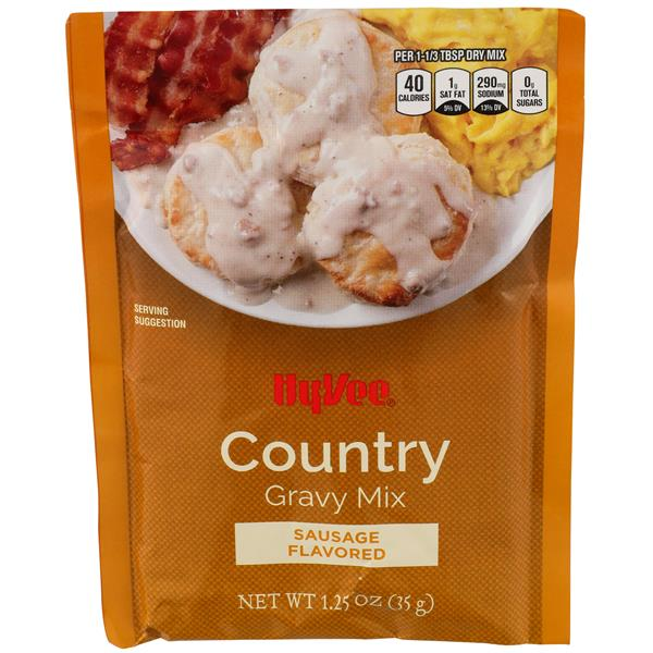 Hy-Vee Country Gravy Mix Sausage Flavored