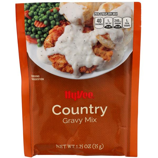 Hy-Vee Country Gravy Mix