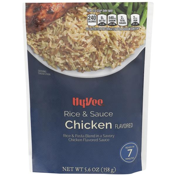 Hy-Vee Chicken Flavor Rice & Sauce