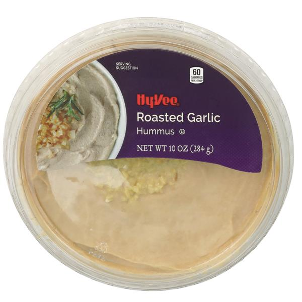 Hy-Vee Select Roasted Garlic Hummus
