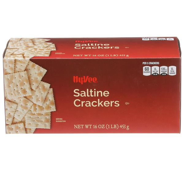 Hy-Vee Saltine Crackers