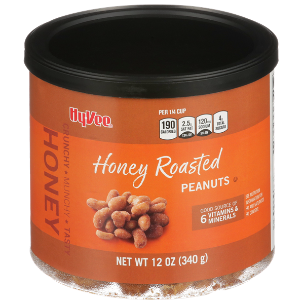 Hy-Vee Honey Roasted Peanuts