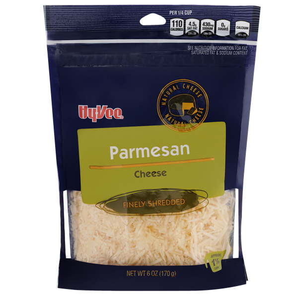 Hy-Vee Finely Shredded Parmesan Cheese