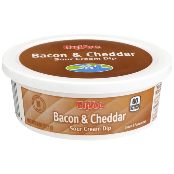 Hy-Vee Bacon & Cheddar Sour Cream Dip
