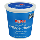 Hy-Vee Large Curd Cottage Cheese