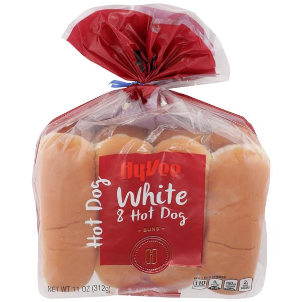 Hy-Vee Hot Dog Buns 8 Count