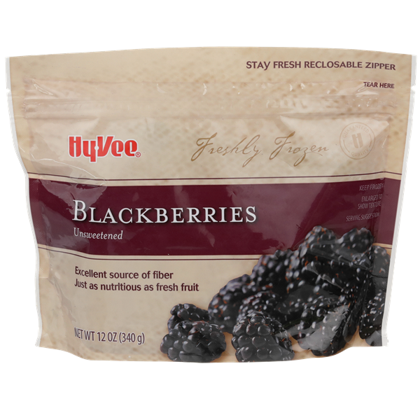 Hy-Vee Blackberries Unsweetened