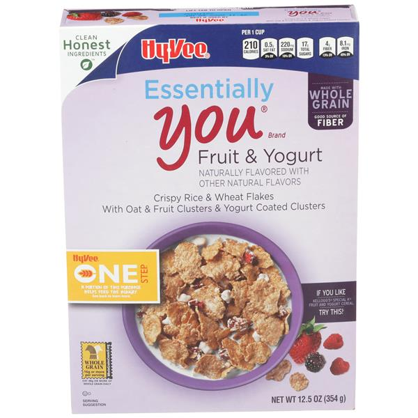 Hy-Vee One Step Essentially You Fruit & Yogurt Cereal