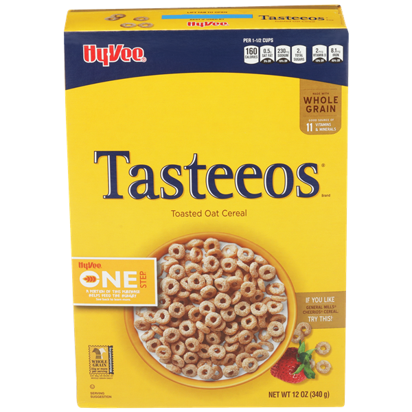 Hy-Vee One Step Tasteeos Cereal