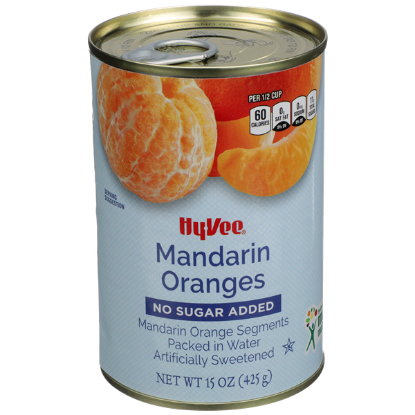 Hy-Vee Mandarin Oranges No Sugar Added